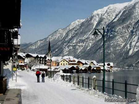 زیباترین روستاهای گردشگری مخصوص زمستان
