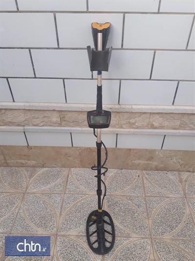 کشف و ضبط یک دستگاه فلزیاب در ارسنجان