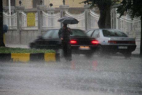 هشدار هواشناسی نسبت به وقوع رگبار باران در 9 استان کشور